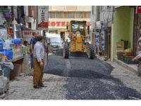 Hakkari'de yol onarım çalışmaları
