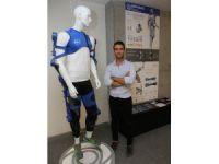 Astronotlar için egzersiz kıyafeti geliştirdi