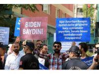 Başkent'te Joe Biden protestosu