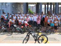 2.Karadeniz Bisiklet Festivali başladı.