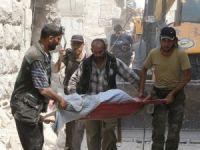 Esed güçleri sivilleri varil bombasıyla vurdu: 15 ölü