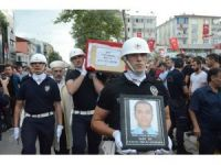 Kocaelili şehit polis toprağa verildi