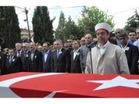 Uşaklı şehit Erhan Öztürk ebediyete uğurlandı