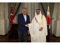 Başbakan Binali Yıldırım Bahreyn Kralı ile görüştü