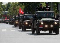 30 Ağustos Zafer Bayramı'nda geçit töreni coşkusu