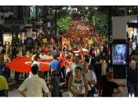 Samsun'da 30 Ağustos fener alayı