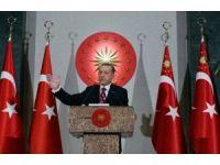 """Cumhurbaşkanı Erdoğan: """"Başınız öne eğik olmasın"""""""