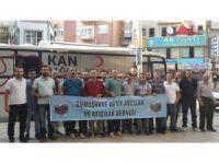 Gümüşhaneli avcılardan 30 Ağustos'ta 32 ünite kan bağışı