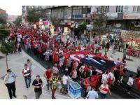 Tekirdağ'da 30 Ağustos Zafer Bayramı için dev yürüyüş
