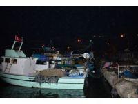 Şiddetli poyraz sebebiyle balıkçılar 'Vira Bismillah' diyemedi
