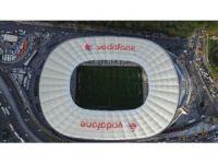 Vodofone arena ilk derbi öncesi havadan görüntülendi