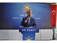 """AK Parti Genel Başkan Yardımcısı Ataş: """"14 yıldır ülkemize hizmet ediyoruz"""""""