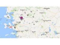 Akhisar'da 3.9 şiddetinde deprem oldu