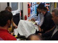 Patlamada yaralanan uzman çavuş Adıyaman'a getirildi