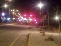 Erciş Belediyesi'nin önünde bombalı kamyon alarmı