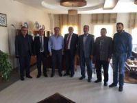 AK Parti'den Habil Yılmaz ve Raşit Arkaç'a ziyaret