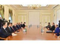 Bakan Avcı, Aliyev'le görüştü