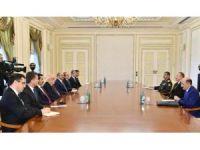 Bakan Işık, Aliyev'le görüştü