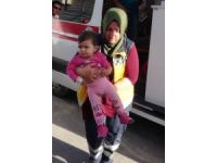 Aksaray'da otomobil takla attı: 3 yaralı