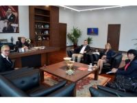 Bulgaristan Heyetinden Çorlu TSO'ya ziyaret
