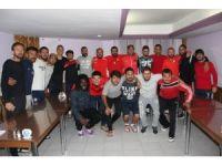 Nevşehirsporlu futbolculardan birlik beraberlik mesajı