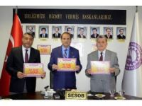 Sivas'ta esnaftan öğrencilere destek