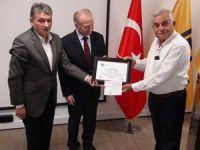 TSE, Asyaport'un liman üstü iş makinelerini sertifikalandırdı
