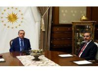 Cumhurbaşkanı Erdoğan MİT Müsteşarını kabul etti
