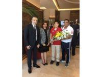 Bakan Elvan ve Avcı, satrançta Avrupa 2.'si olan, Doğa Okulları öğrencisini kabul etti