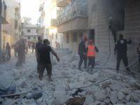 İdlib'de yerleşim yerine vakum bombalı saldırı: 20 ölü, 24 yaralı