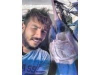 Antalya'da 55 kilogramlık kılıç balığı yakalandı