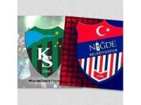 Niğde Belediyespor Kulübü'nden Kocaelispor'a destek