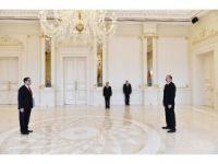 Azerbaycan Cumhurbaşkanı Aliyev, Bakü Büyükelçiliği'ne atanan Özoral'ın güven mektubunu kabul etti