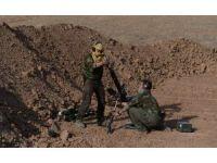 DAEŞ'e karşı Peşmergeyle birlikte çatışan Amerikan askerini İHA görüntüledi
