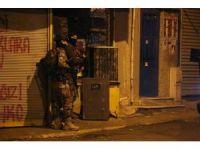 Okmeydanı'nda hava destekli terör operasyonu