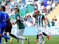 Bursaspor'da Batalla kadroya alınmadı