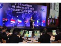 D8 üyesi ülkelerden İzmir'de büyük zirve