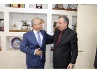 Genel Sekreter Memiş'ten Başkan Kayda'ya ziyaret