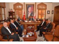 Eskişehir'de yaşayan Bilecikli'lerden Başkan Yağcı'ya ziyaret
