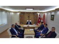 Başkan Yalçın'dan AK Parti Yıldırım İlçe Başkanlığına ziyaret