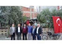 Salihli Ticaret Borsası'ndan şehit ailesine taziye ziyareti