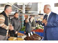 Başkan Görmez, İzmirlileri ilçenin Perşembe pazarına davet etti
