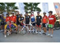 İhtiyar delikanlılar bisiklet organizasyonu için Antalya'da Buluştu