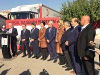 Türk Kızılayı'nın 20 TIR'ı Musul için yola çıktı