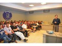 Bodrum'da risk yönetimi ve değerlendirilmesi eğitimi verildi