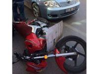 Elazığ'da motosiklet kazası: 2 yaralı