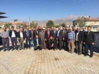 Kaymakam Duru Ve Başkan Cabbar'dan Çayırözü Mahallesine ziyaret