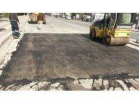 Körfez'de yol yapım ve asfaltlama çalışmaları sürüyor