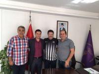 Kuşadası Gençlikspor Kulübü'nden sanayi sitesi yönetimine ziyaret