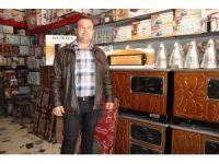 Aksaray'da soba ve kömür satışları başladı